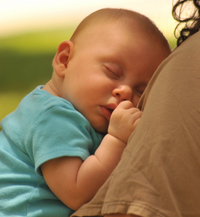 Baby Charlie - delivered in Milton Keynes using hypnotherapy