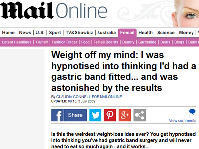Weight Off My Mind with Gastric Band